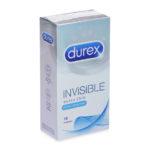 Bao Cao Su Siêu Mỏng Truyền Nhiệt Durex Invisible